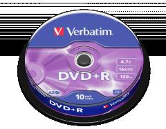 Verbatim 43498 1-16X (10 / cake box)