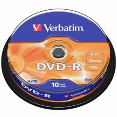 Verbatim 43523 DVD-R 16X 10隻筒裝