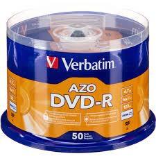 Verbatim 95101 DVD-R 16X 50隻筒裝
