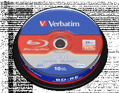 Verbatim 43694 BD-RE 10pcs Spindle
