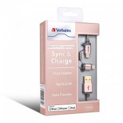 Verbatim 64992 2 in 1 Lighting&Micro USB Cable