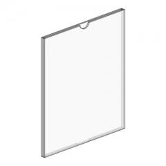 A4 透明亞加力 貼牆 展示架 通告架 #119862