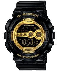 Casio G-SHOCK GD-100GB-1 黑金色