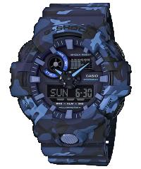 Casio G-SHOCK GA-700CM-2A 藍色