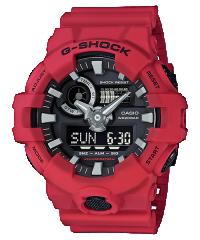Casio G-SHOCK GA-700-4A 紅色