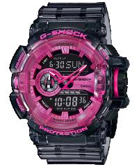 Casio G-SHOCK GA-400SK-1A4 粉紅色