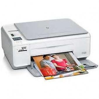 HP Photosmart C4345 (4合1) 噴墨打印機 (Print / Copy / Sc