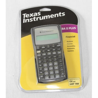 Texas Instruments BA II Plus Finacial 計數機