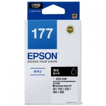 Epson (T1771) C13T177183 (原裝) Ink - Black Expressi