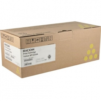 Ricoh 19269 (原裝) (2K) Toner - Yellow Aficio SP-C22