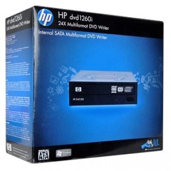 HP dvd1260i (Black) (內置式) 24X DVD-RW Rom