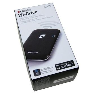 Kingston 32GB (WID-32GB) Wi-Drive