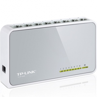 TP-Link TL-SF1008D 8-Port 10/100Mbps Desktop Switc
