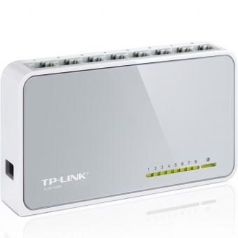 TP-Link TL-SF1008D 8-Port 10/100Mbps Desktop Switc