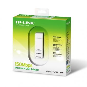 TP-Link TL-WN727N (150M) Wireless N USB Adapter