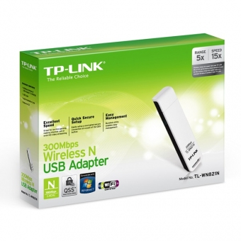 TP-Link TL-WN821N (300M) Wireless N USB Adapter