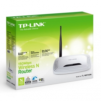TP-Link TL-WR740N (150M) 1T1R Wireless N Router (單