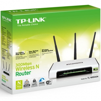TP-Link TL-WR940N (300M) 3T3R Wireless N Router (三