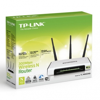 TP-Link TL-WR941ND (300M) 3T3R Wireless N Router (