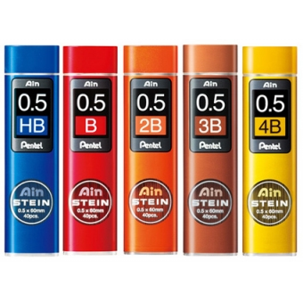 Pentel Ain Stein C275 0.5 鉛芯 - 多種選擇 HB