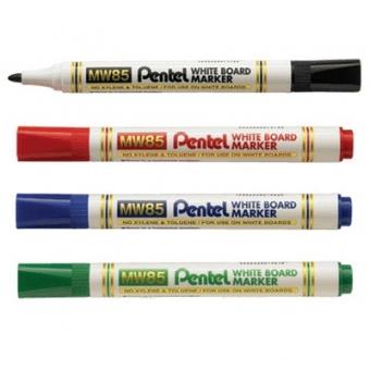 Pentel  MW85-CA  膠筒 白板筆 - 藍