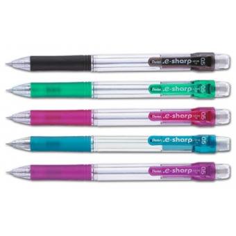Pentel AZ125R (0.5) 按掣 鉛芯筆 - 黑/綠/粉紅/藍/紫