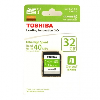 Toshiba 32.0GB (Class 10) (UHS-1) SDHC SD Card (SD