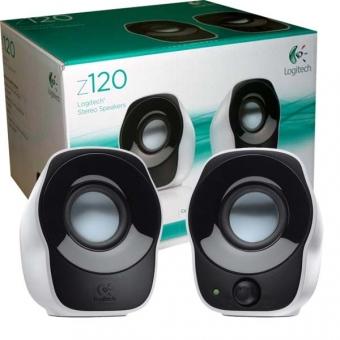 Logitech (Z120) Stereo Speakers - #980-000525