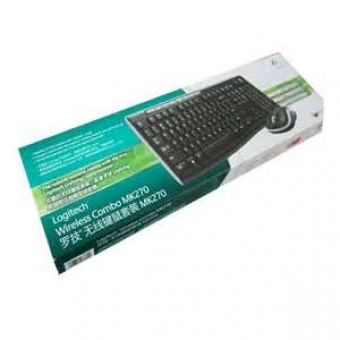 Logitech (MK270)  無線Keyboard+Mouse套裝 - #920-004496