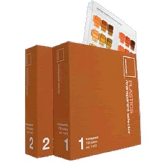 PANTONE® 塑膠透明色選色手冊 PBT100