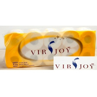 Virjoy 卷裝廁紙(10卷裝) 3層 (2月28月到貨)