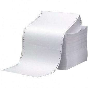 9.5吋 x 5.5吋 電腦紙 (1-3層 白色)