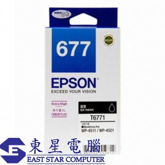 Epson (677) C13T677180 Ink - Black Workforce Pro W
