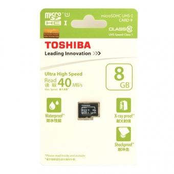 Toshiba 8.0GB (Class 10) (UHS-1) Micro SDHC Card (