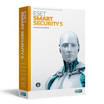 ESET 防毒軟件 (Smart Security 5) 1年10用戶 (教育及非牟利機構) 授權証
