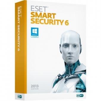 ESET 防毒軟件 (Smart Security 6) 2年2用戶 (盒裝版)