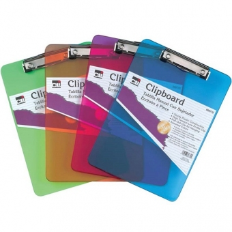A4 單板夾 Plastic Clipborad 彩色