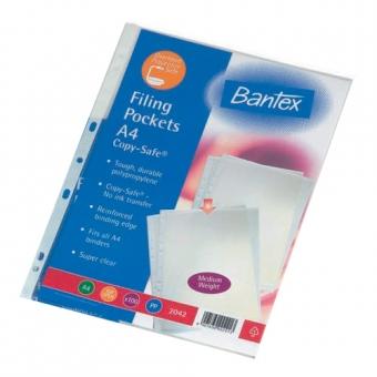 Bantex A4 2042 Copy Safe 文件保護套 磨沙 (100個裝)