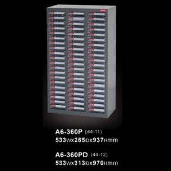 SHUTER 樹德 A6-360PD 零件櫃