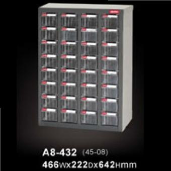 SHUTER 樹德 A8-432 零件櫃