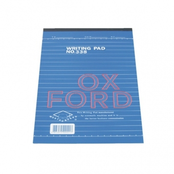 Oxford A5 (338) Writing Pad