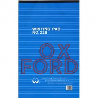 Oxford F4 (228) Writing Pad