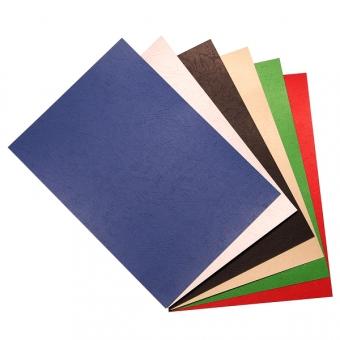 A4 230g 釘裝雙面皮紋咭紙 (100張)