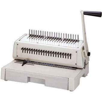 HIC HPB-210 (A4) 手動膠圈釘裝機