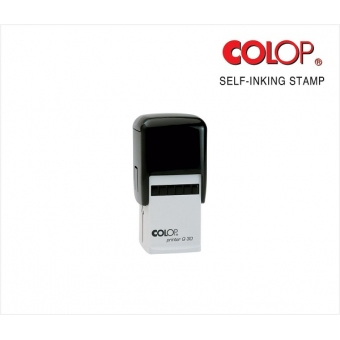 訂造自動迴墨原子印 (30 x 30mm) - CQ30