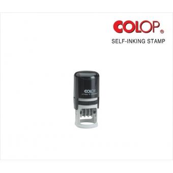 訂造自動迴墨原子印 (30mm Dia) - CD30