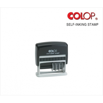 訂造自動迴墨原子印 (9 x 24mm) - CD20