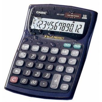 Casio WD-220T 計數機