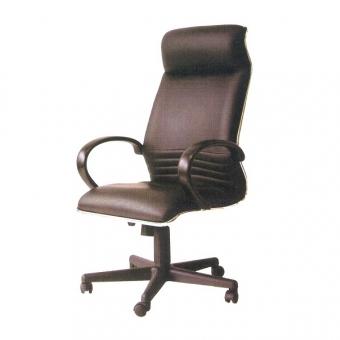 Cara SL-911GL 高級經理座椅 (黑色半真皮高背)