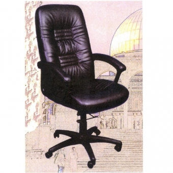 Cara SL-1000H 高級大班椅 (黑色半真皮高背)